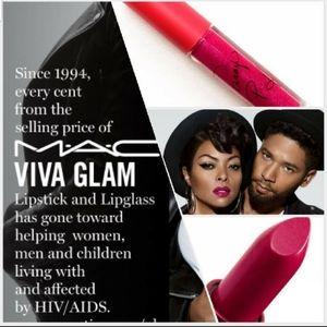 Mac Taraji P. Henson Viva Glam Matte Lipstick ONLY